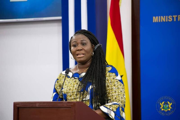 Minister of Fisheries and Aquaculture Development, Madam Elizabeth Afoley Quaye
