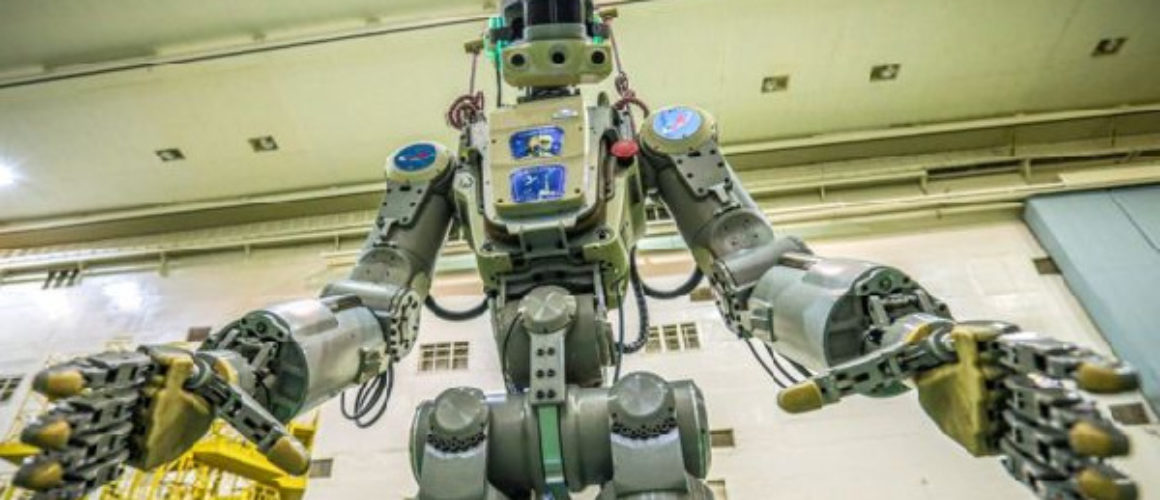 russia space robot