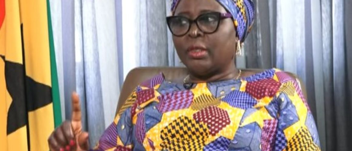 Hajia Mahama has asked for the opposition's support to pass the bill.