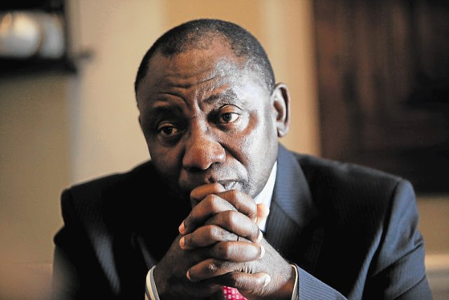 President Cyril Ramaphosa fighting xenophobia in South Africa