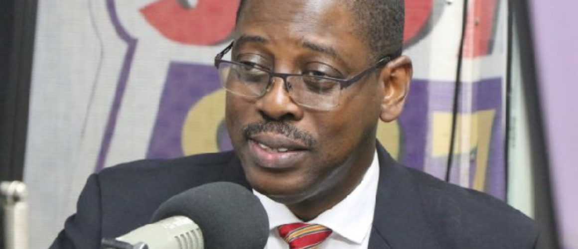 Rev. Daniel Ogbarmey Tetteh, Director-General of the Securities and Exchange Commission