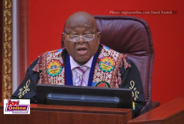 Speaker of Parliament, Prof Mike Oquaye