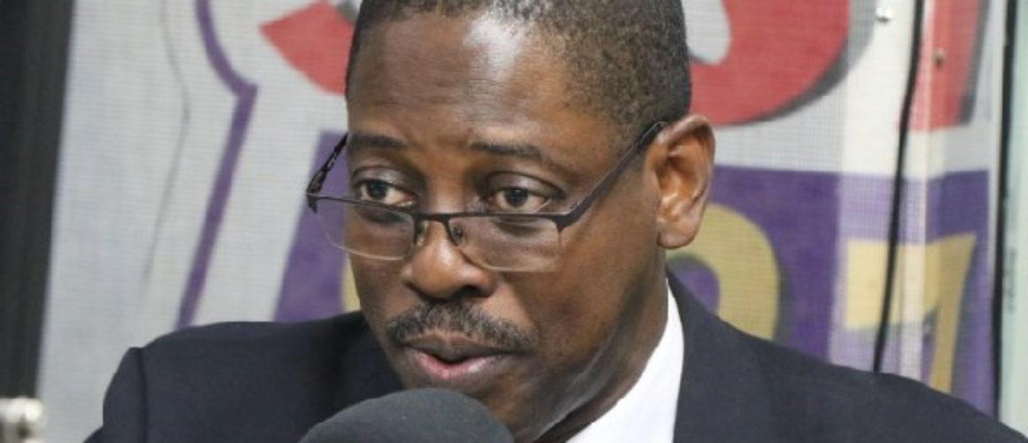 Director-General of the SEC, Reverend Daniel Ogbamey Tetteh
