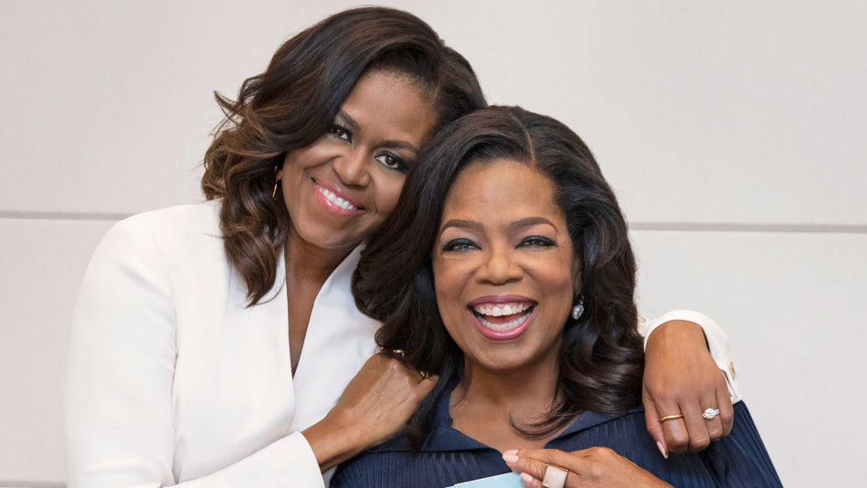 MIchelle and Oprah