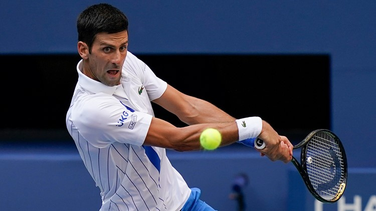 Novak Djokovic Disqualified From Us Open After Striking Lineswoman With Ball Dnt