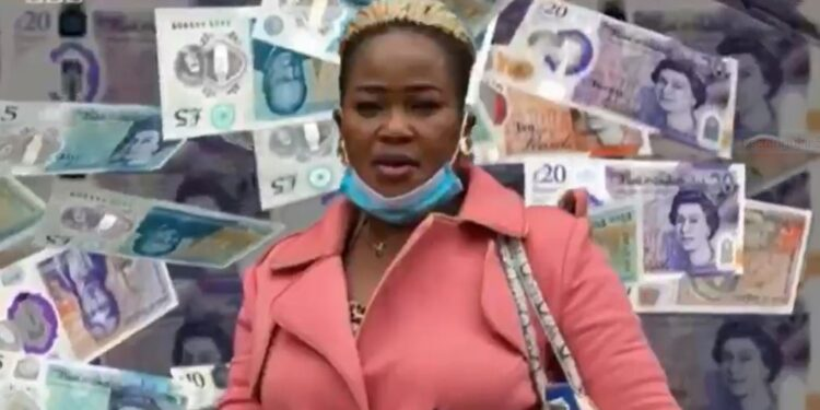 Ghanaian convicted in the UK for spending money mistakenly deposited in her account